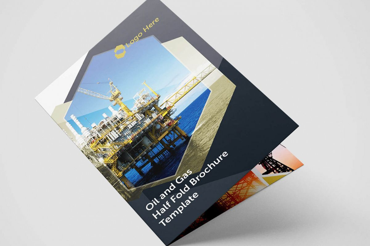 007 Marvelou Half Fold Brochure Template Highest Quality  Free Microsoft Word IndesignFull