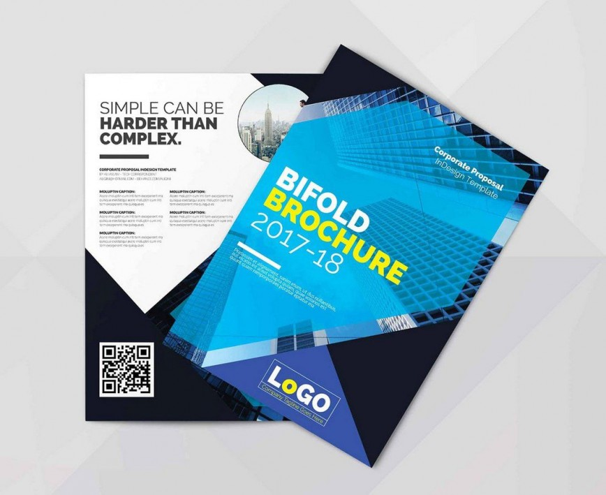 007 Marvelou Indesign Brochure Template Free Picture  Tri-fold Download