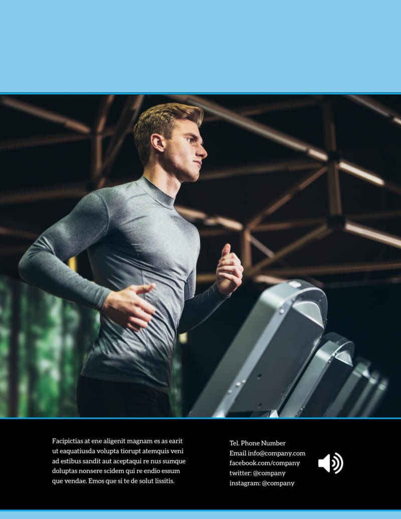 007 Marvelou Personal Trainer Flyer Template Photo  Word PsdFull