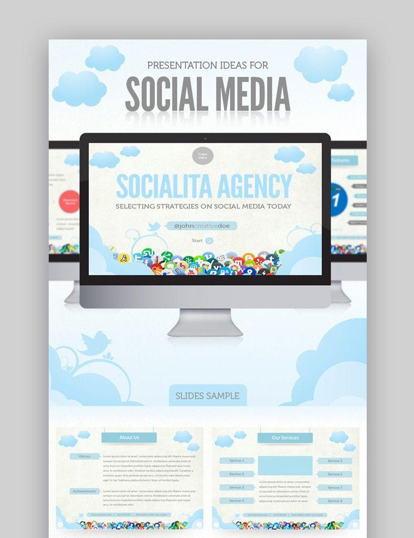 007 Marvelou Social Media Proposal Template Ppt High Definition Full