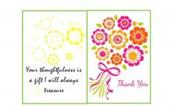007 Marvelou Thank You Card Template Inspiration  Christma Word Wedding Reception Teacher Busines