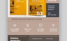 007 Marvelou Web Design Proposal Template Indesign Image