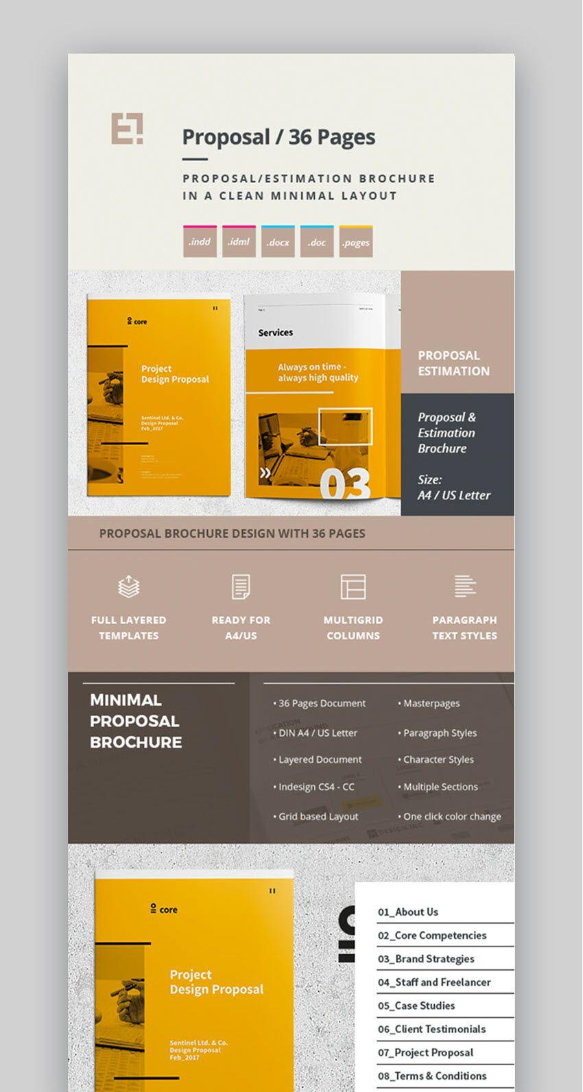 007 Marvelou Web Design Proposal Template Indesign Image Full