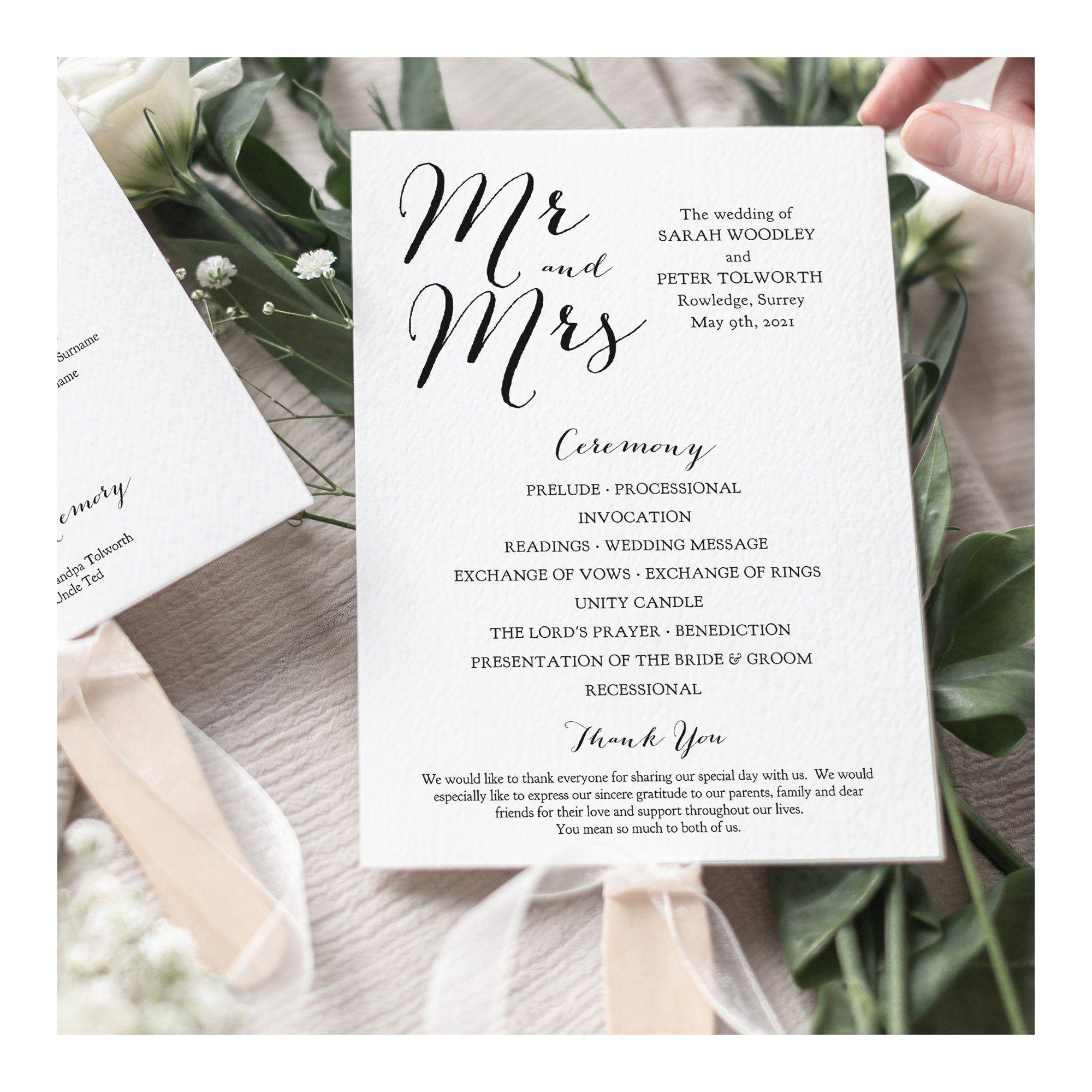 007 Marvelou Wedding Program Template Free Download Photo  Downloadable Pdf Reception Microsoft Word FanFull