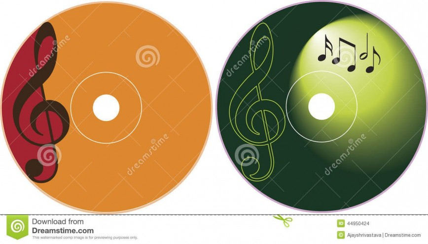 007 Outstanding Cd Label Design Template Free Download Picture  Cover Psd