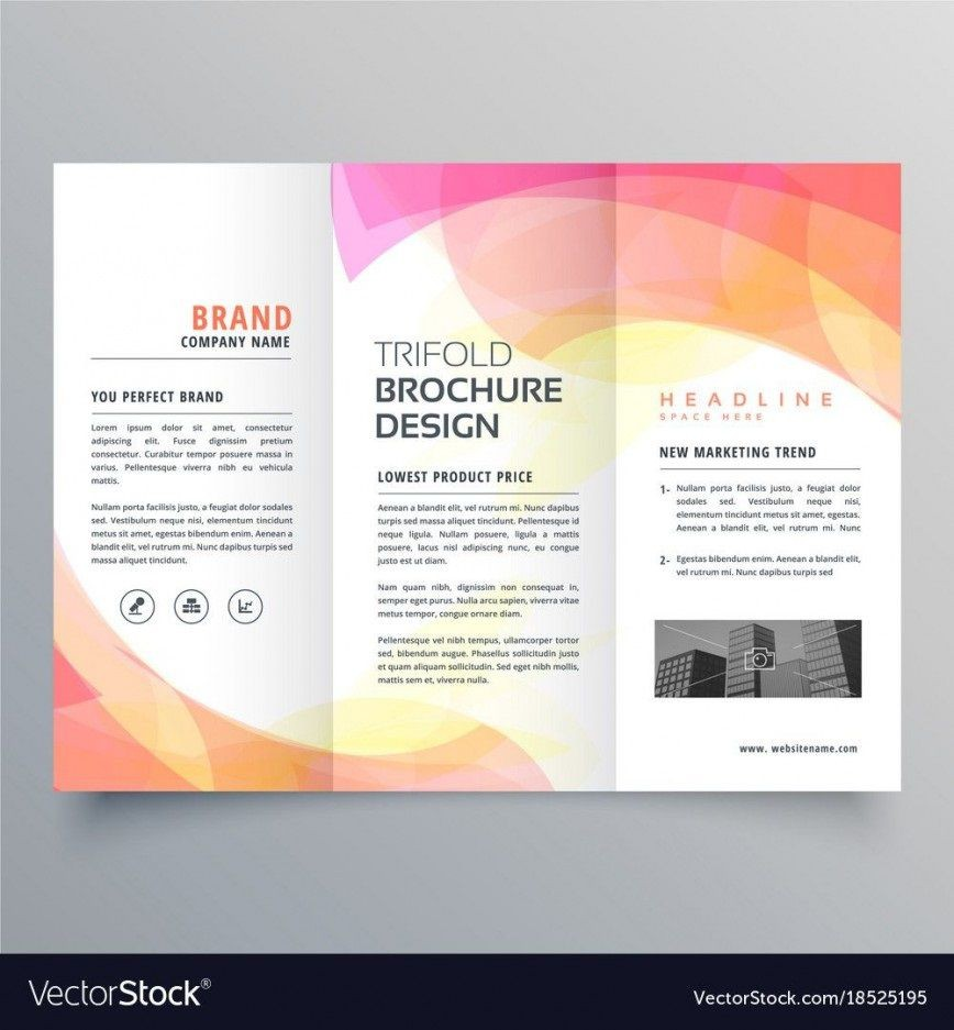 007 Outstanding Free Brochure Template For Word 2007 Inspiration  Design Download Tri Fold