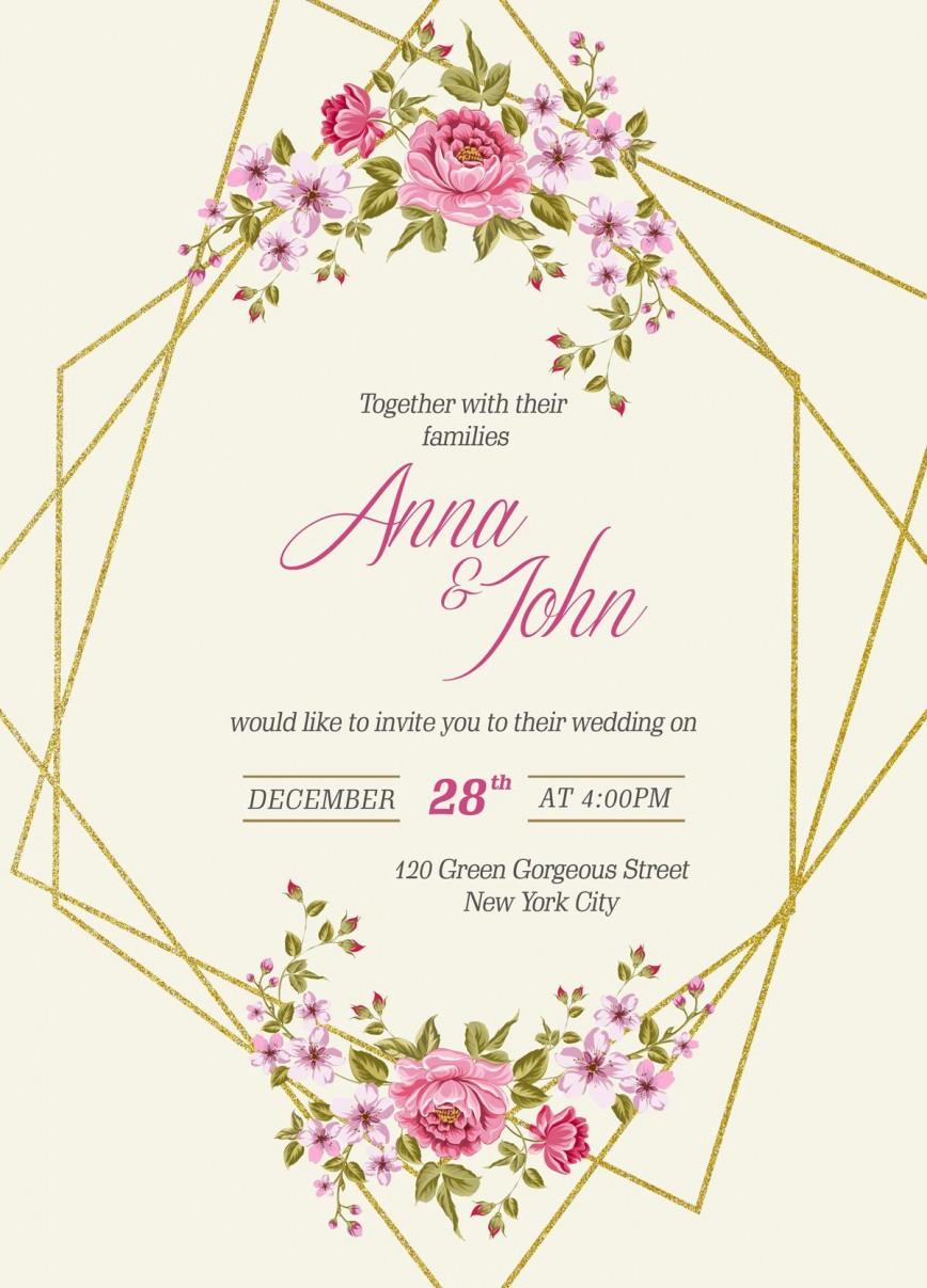 007 Outstanding Free Download Invitation Card Template Psd Image  Indian Wedding868