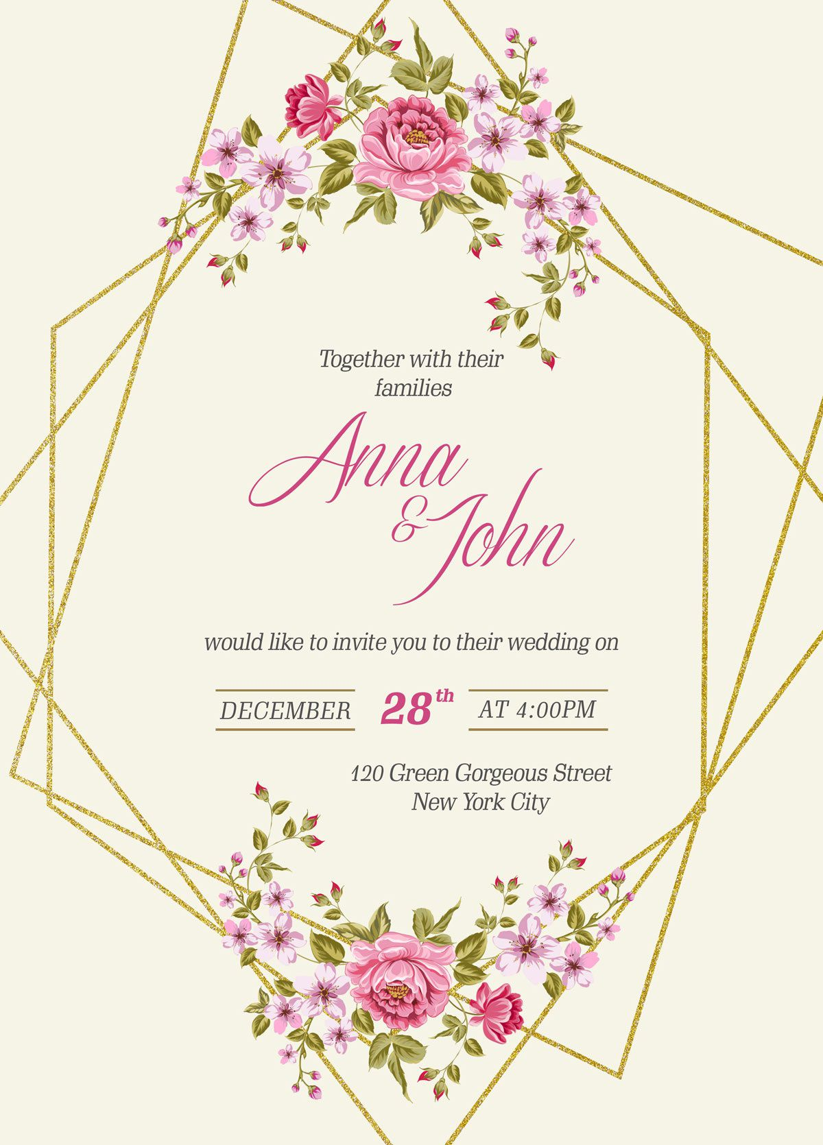 007 Outstanding Free Download Invitation Card Template Psd Image  Indian WeddingFull