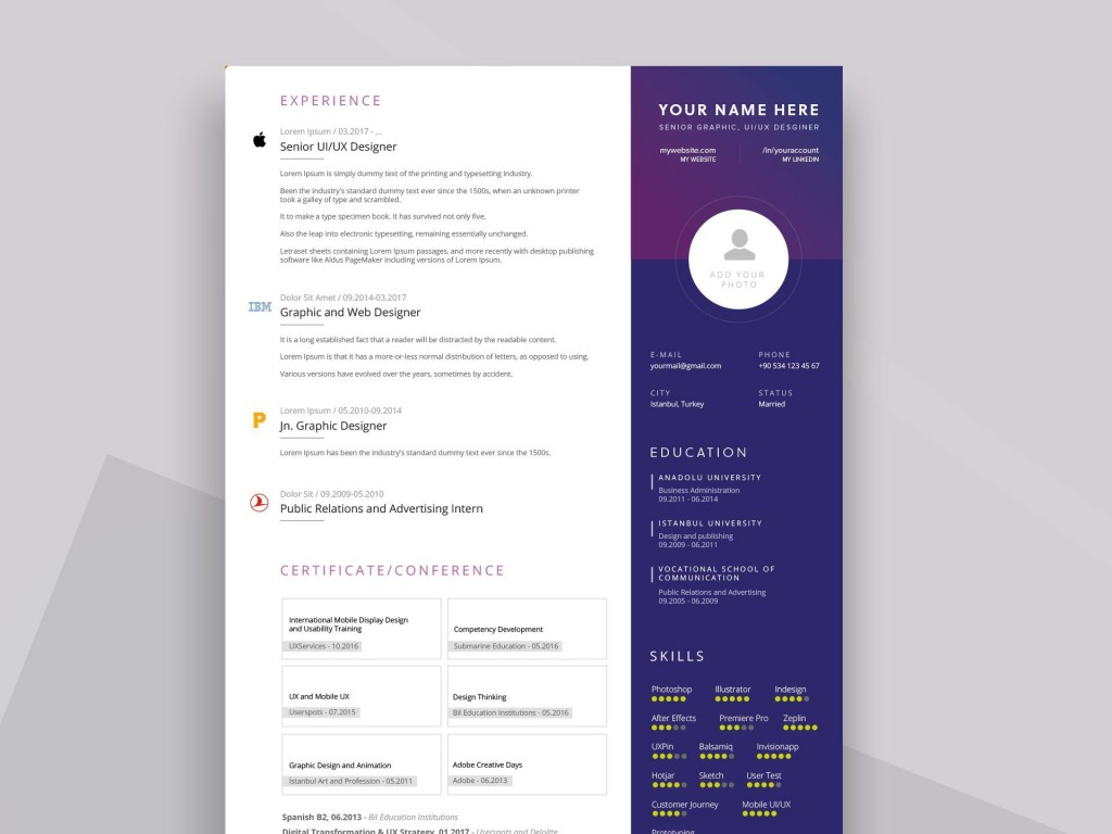 007 Outstanding Free Download Resume Template Design  Templates Word 2019 Pdf 2020Large