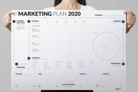 007 Outstanding Free Marketing Plan Template Picture  Hubspot Download Ppt