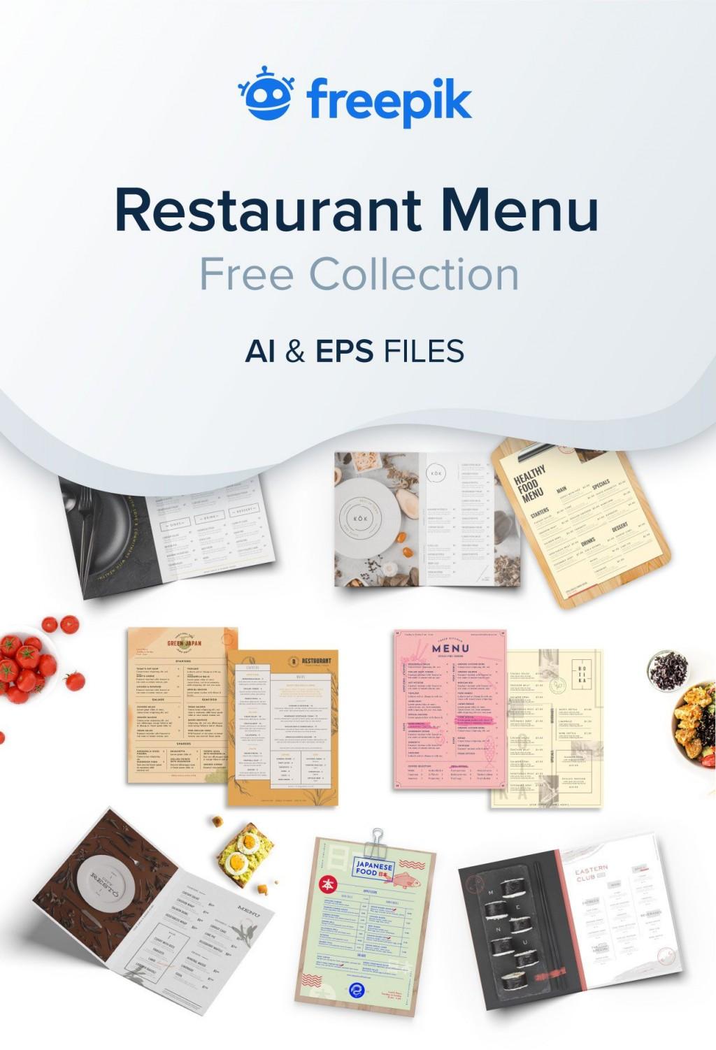 007 Outstanding Free Menu Template Download Example  Beauty Parlour Card Html Design RestaurantLarge