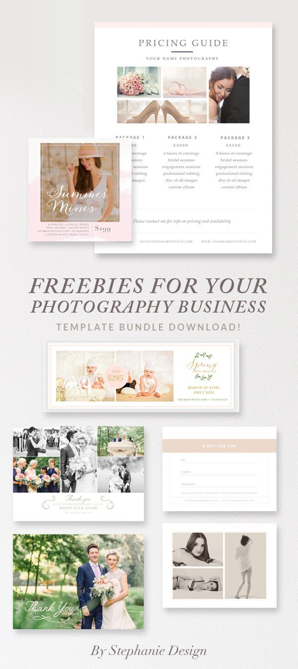 007 Outstanding Free Photography Marketing Template Idea  Templates SeniorFull