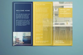007 Outstanding Indesign Trifold Brochure Template Image  Tri Fold A4 Bi Free Download