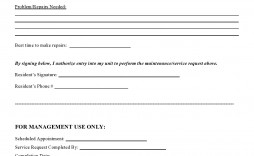 007 Outstanding Maintenance Work Order Template Sample  Form Free