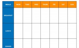007 Outstanding Meal Plan Template Excel Inspiration  Monthly Macro