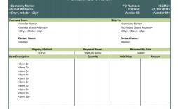 007 Outstanding Purchase Order Template Free Concept  Log M Acces Blanket