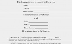 007 Outstanding Simple Loan Agreement Template Word High Def  Format Personal Microsoft
