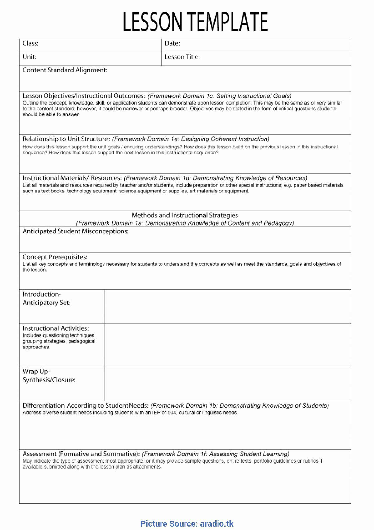 007 Outstanding Siop Lesson Plan Example First Grade Highest Clarity  1stFull