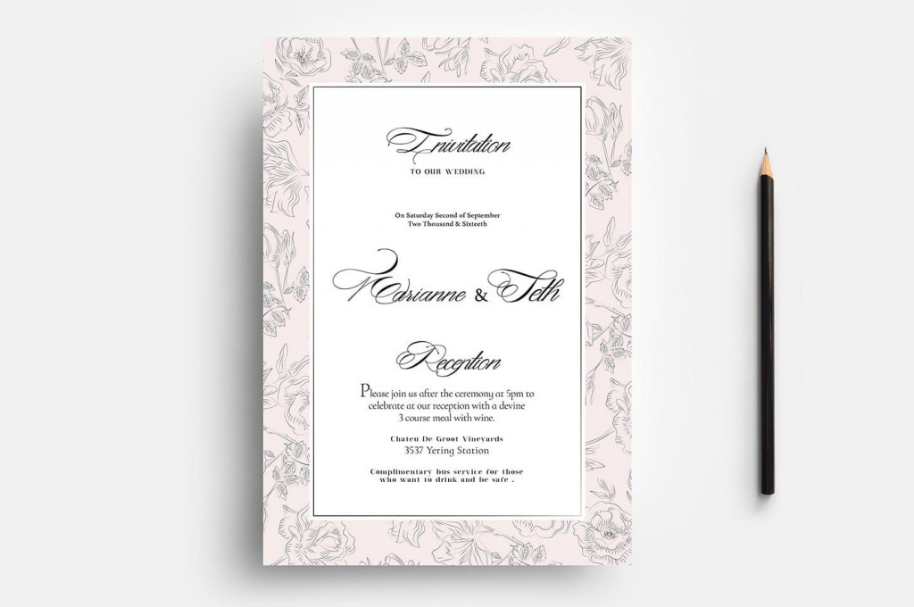 007 Outstanding Wedding Order Of Service Template Free Download Idea  Downloadable That Can Be PrintedLarge
