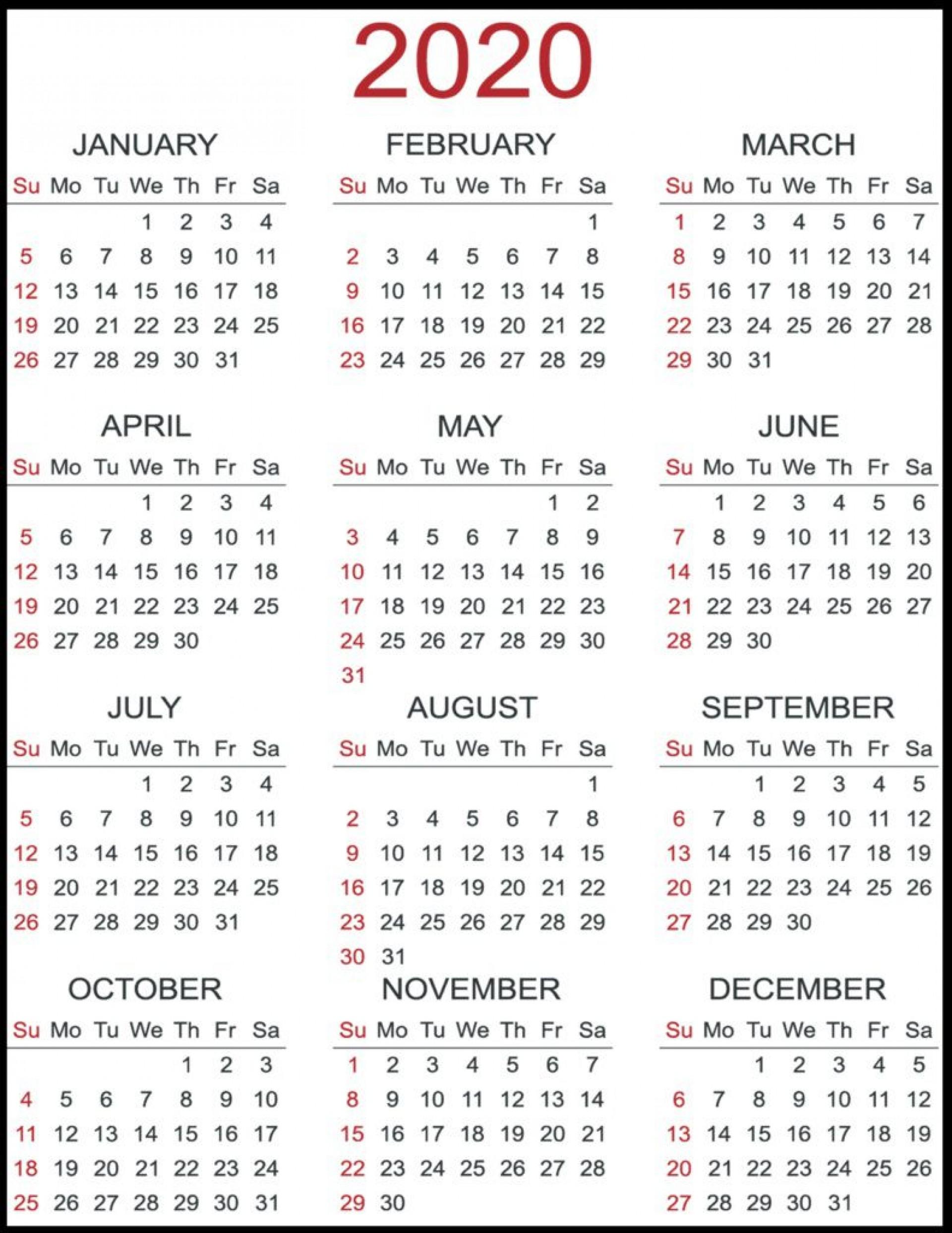 007 Phenomenal 2020 Payroll Calendar Template High Resolution  Biweekly Canada Free Excel1920