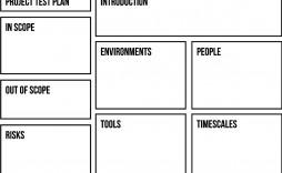 007 Phenomenal Agile Test Plan Template Sample  Word Example Document