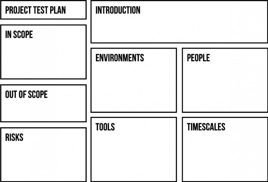 007 Phenomenal Agile Test Plan Template Sample  Excel Example Pdf