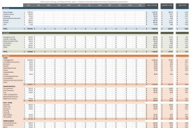007 Phenomenal Cash Flow Sample Excel Concept  Spreadsheet Free Forecast Template