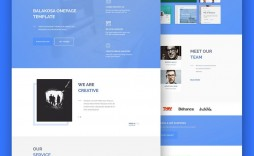 007 Phenomenal Creative One Page Website Template Free Download High Def