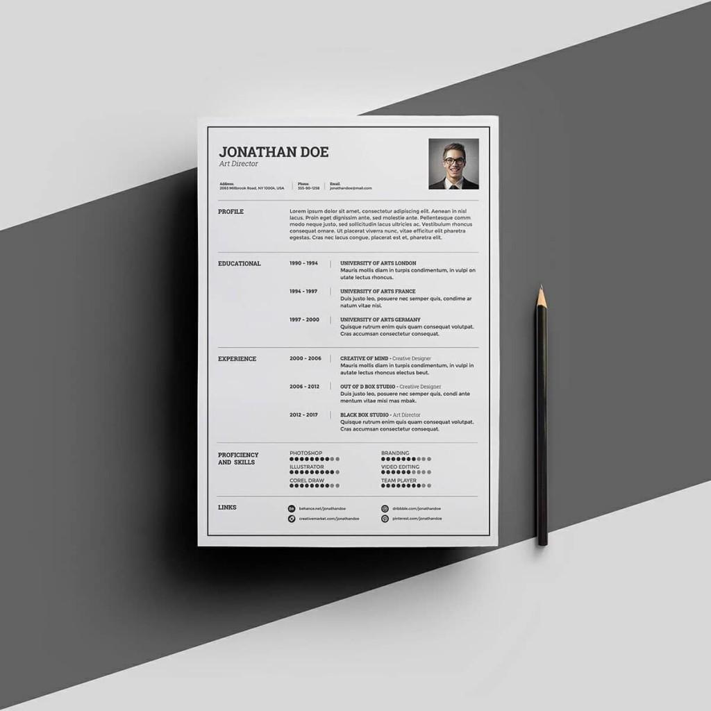 007 Phenomenal Download Elegant Resume Template Microsoft Word Sample Large