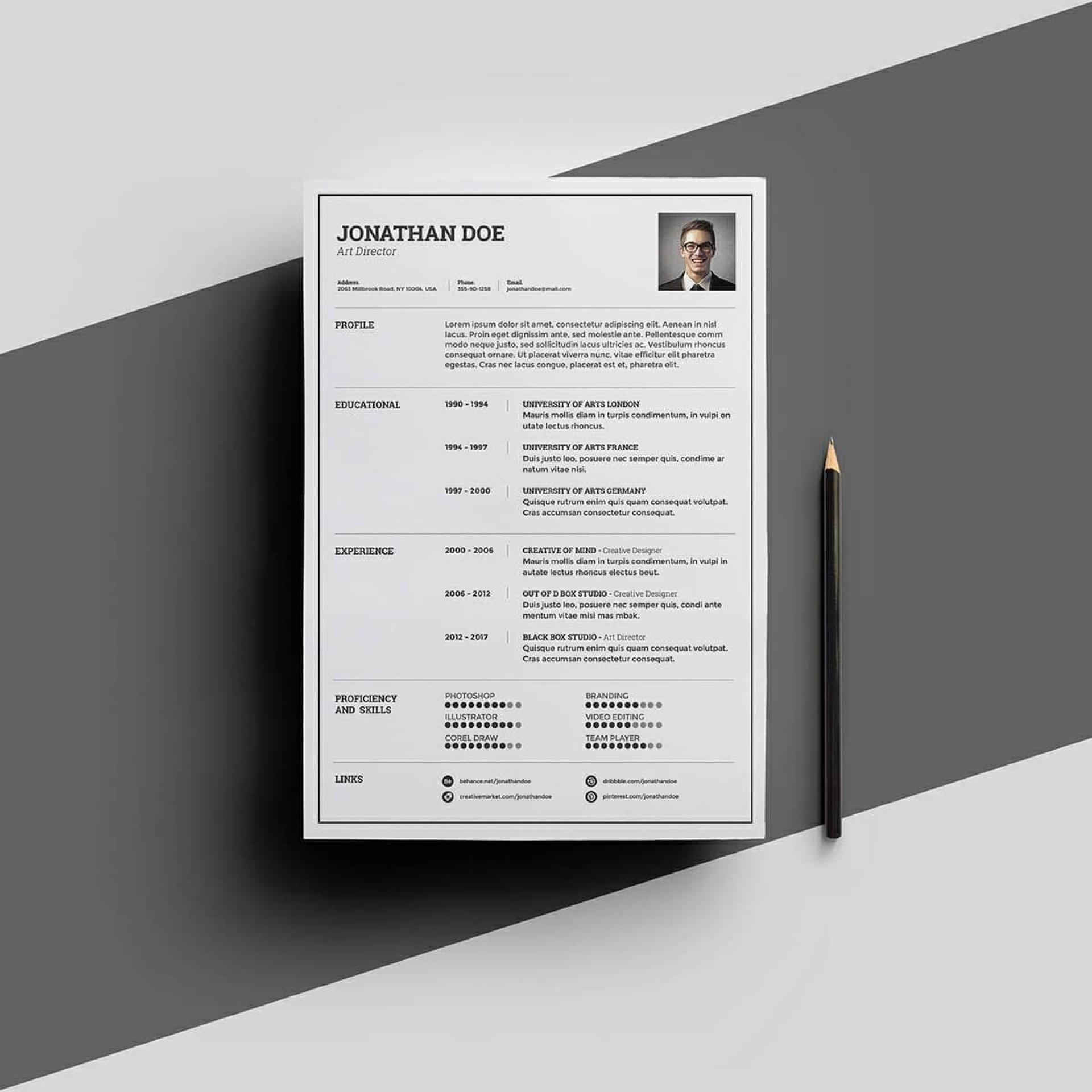 007 Phenomenal Download Elegant Resume Template Microsoft Word Sample 1920