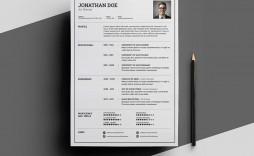 007 Phenomenal Download Elegant Resume Template Microsoft Word Sample
