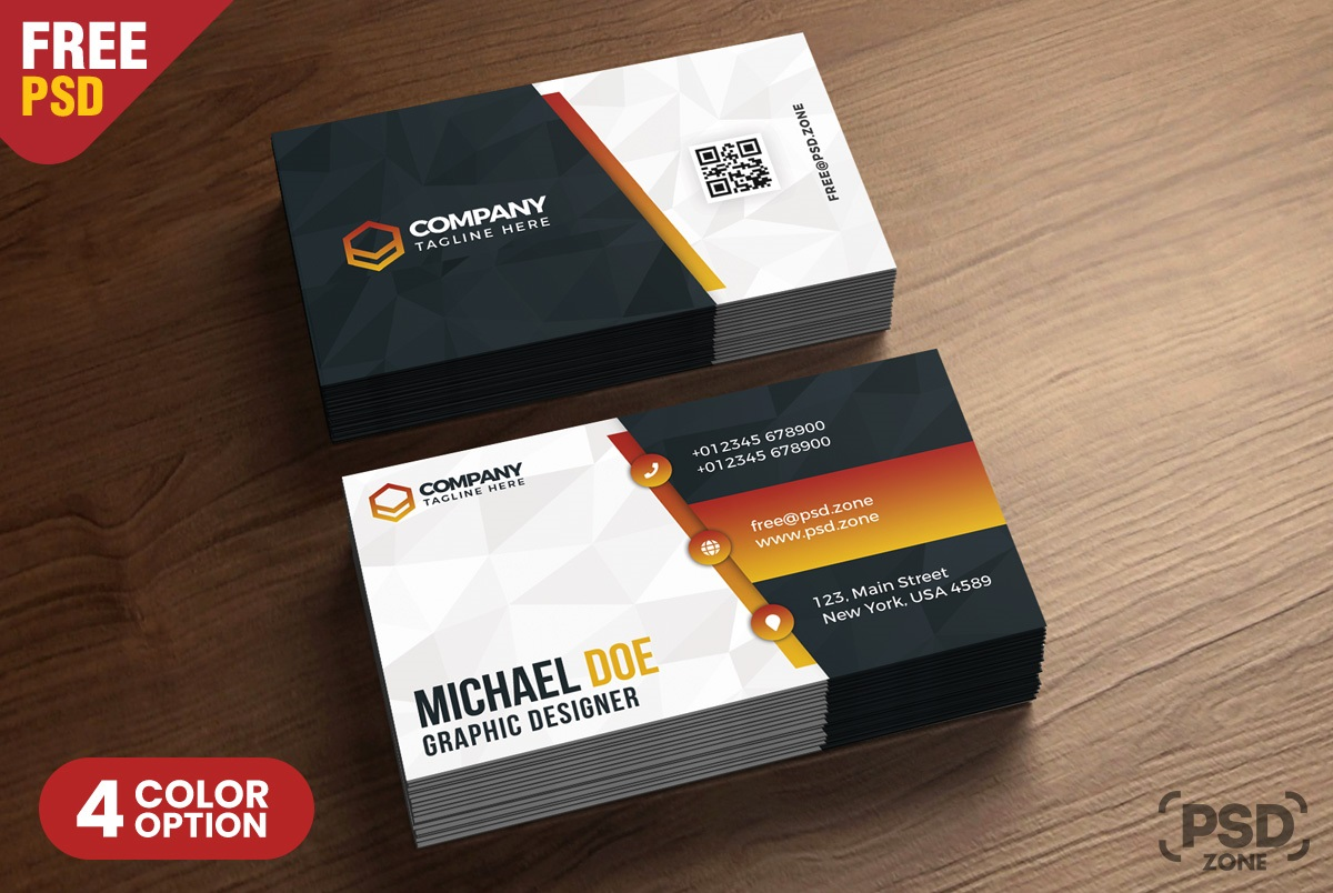 007 Phenomenal Free Busines Card Design Template Photo  Templates Visiting Download Psd PhotoshopFull