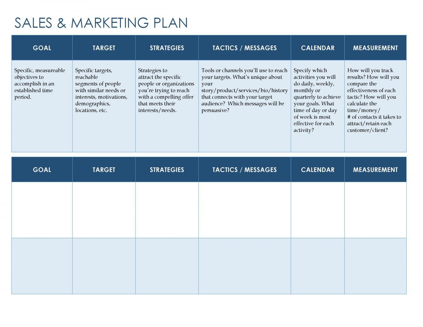 007 Phenomenal Free Marketing Plan Template Word Sample  Digital Download1400