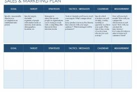 007 Phenomenal Free Marketing Plan Template Word Sample  Digital Download