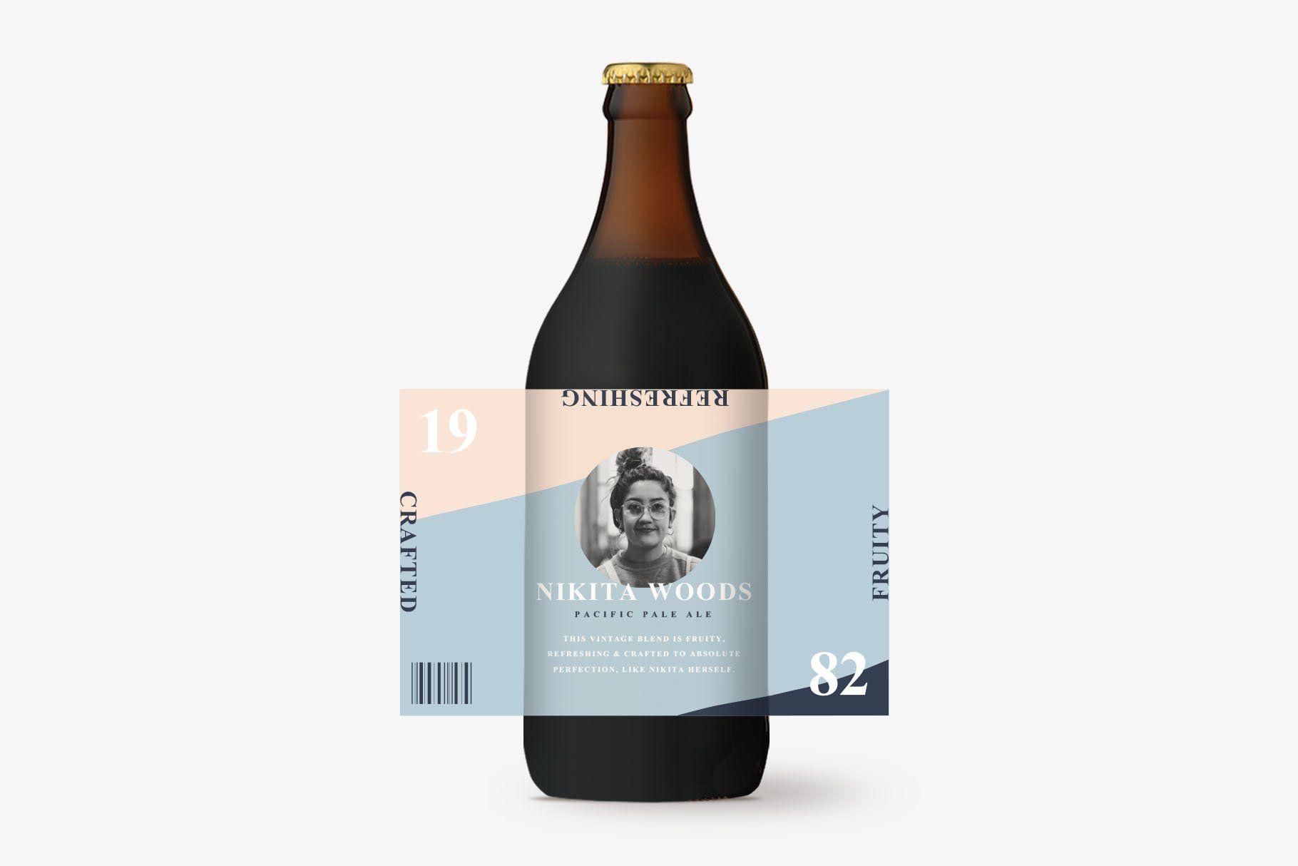 007 Phenomenal Microsoft Word Beer Bottle Label Template Sample Full