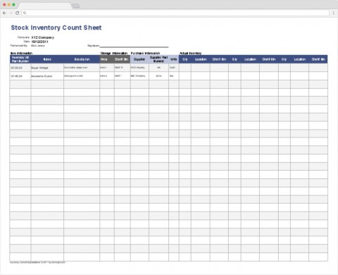 007 Phenomenal Office Supply Inventory Template Design  List Excel Medical480