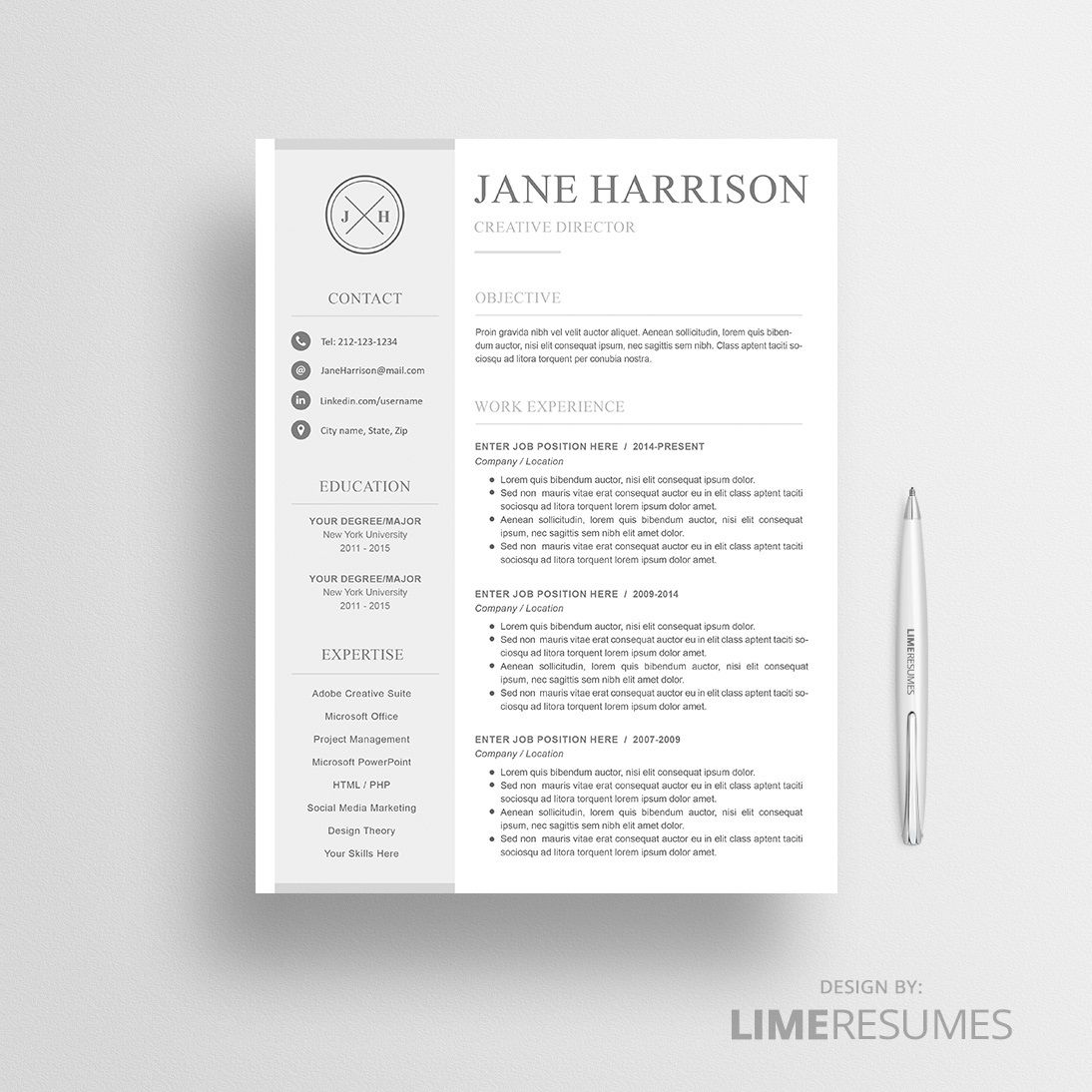 007 Phenomenal Resume Reference Template Microsoft Word Image  ListFull