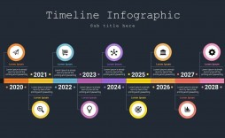 007 Phenomenal Timeline Template Ppt Free Download Sample  Infographic Powerpoint Project