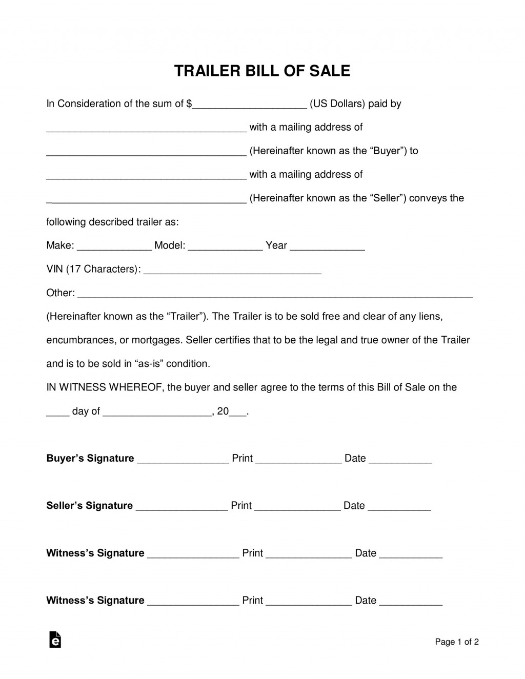 007 Rare Bill Of Sale Texa Template High Def  Motor Vehicle Form Free PrintableLarge