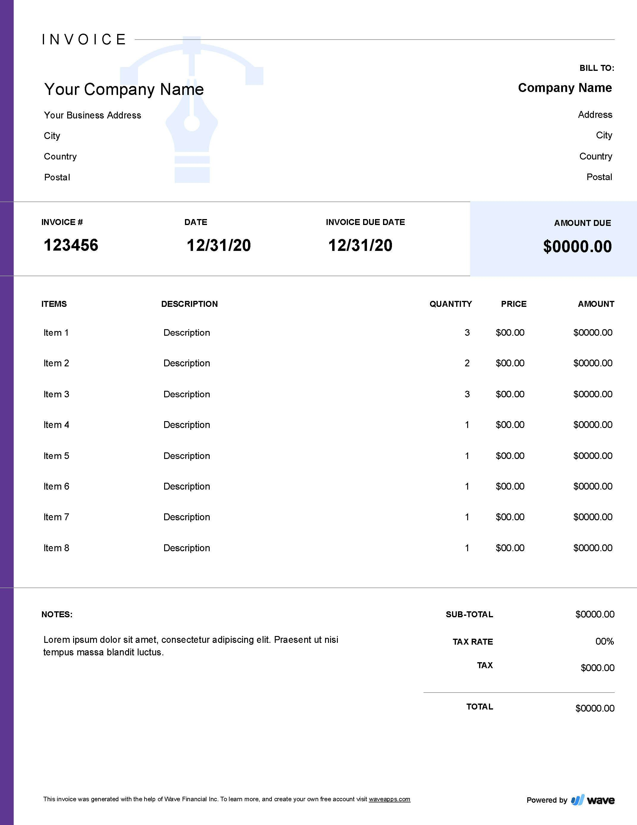 007 Rare Freelance Designer Invoice Example Idea  Simple TemplateFull