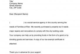 007 Rare In Kind Donation Letter Template Inspiration  Charitable Request Receipt Acknowledgement