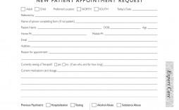 007 Rare Patient Intake Form Template Concept  Word Client Excel Pdf