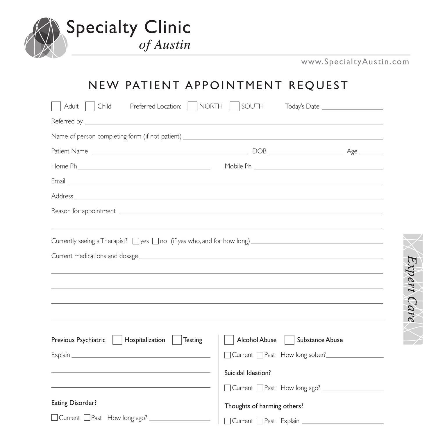 007 Rare Patient Intake Form Template Concept  Word Client Excel PdfFull