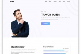 007 Rare Personal Website Template Bootstrap Highest Clarity  4 Free Download Portfolio