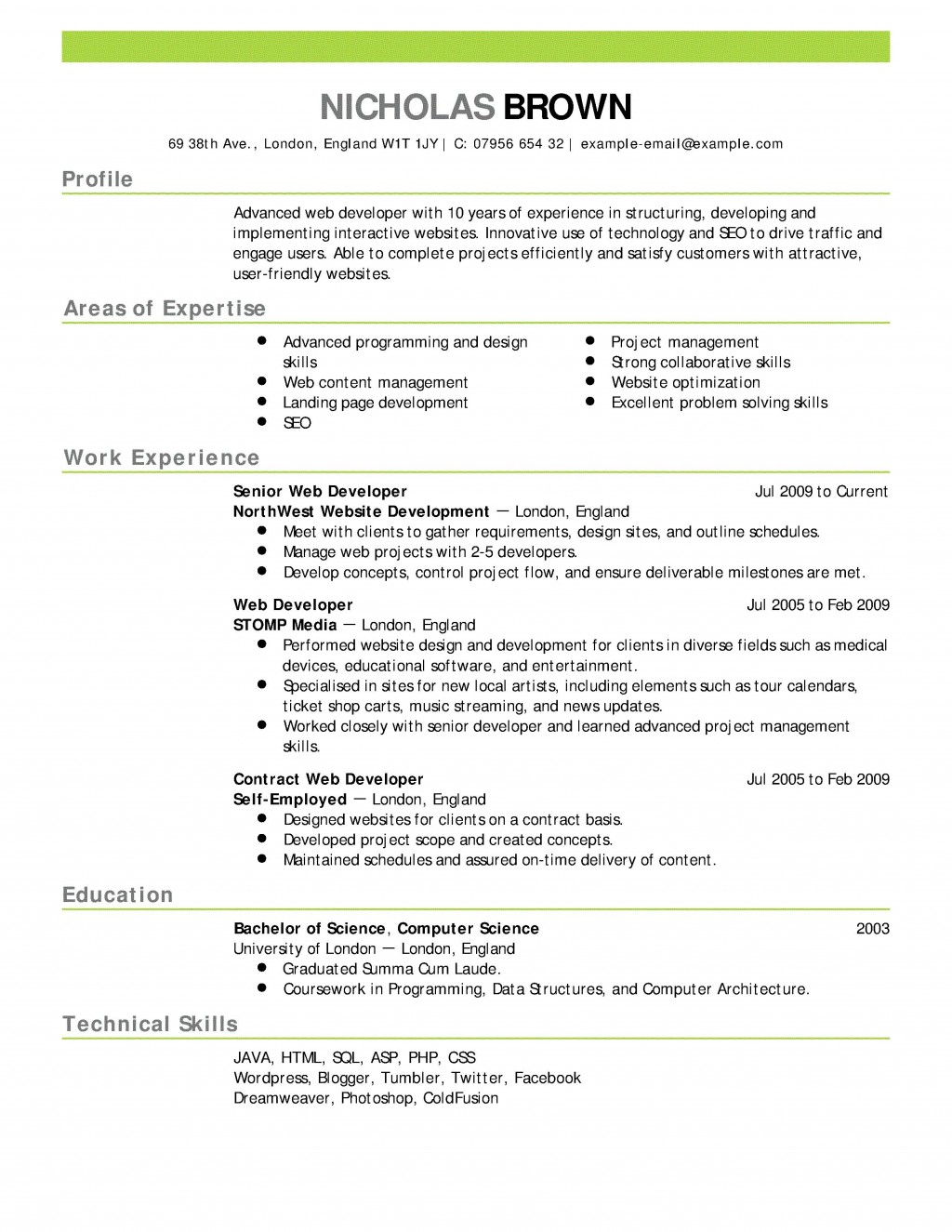 007 Rare Resume Template For Wordpad Picture  Free Cv DownloadLarge