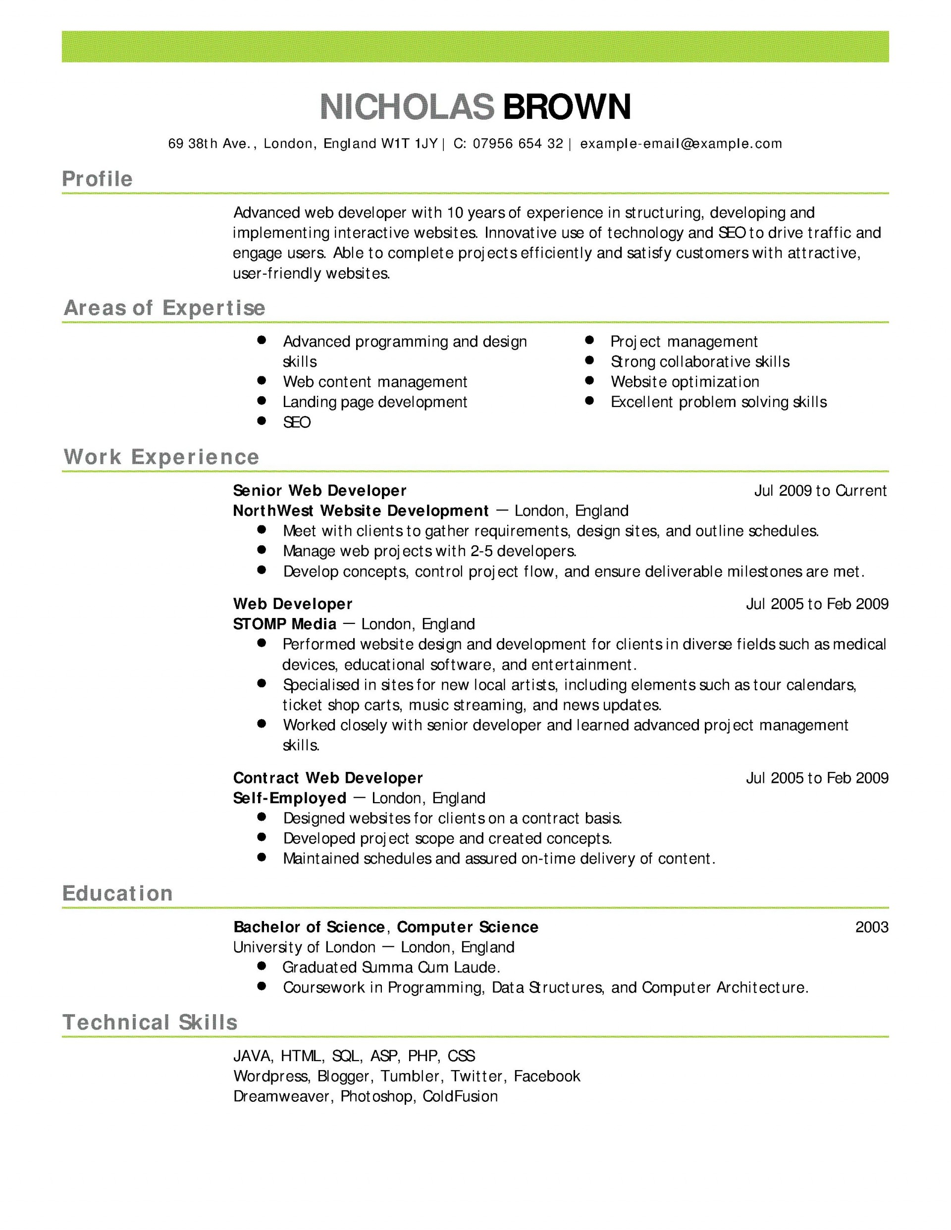 007 Rare Resume Template For Wordpad Picture  Free Cv Download1920