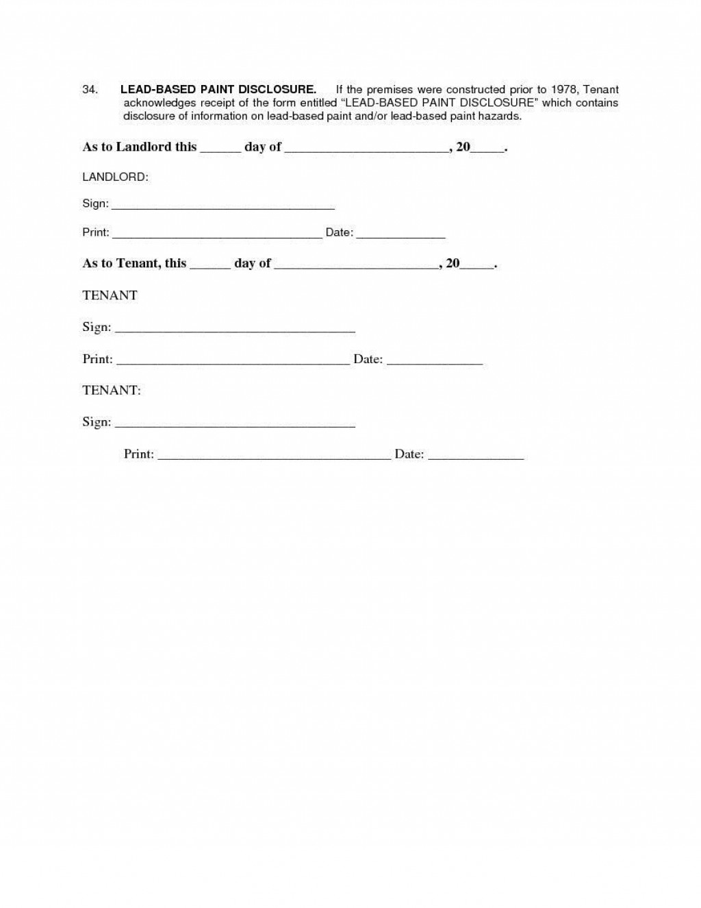 007 Remarkable Apartment Lease Agreement Form Texa High Def Large