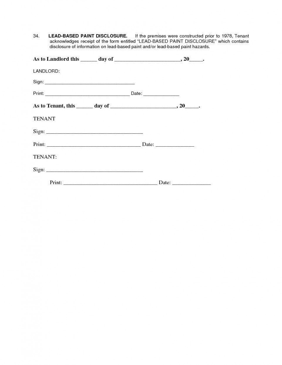 007 Remarkable Apartment Lease Agreement Form Texa High Def 960