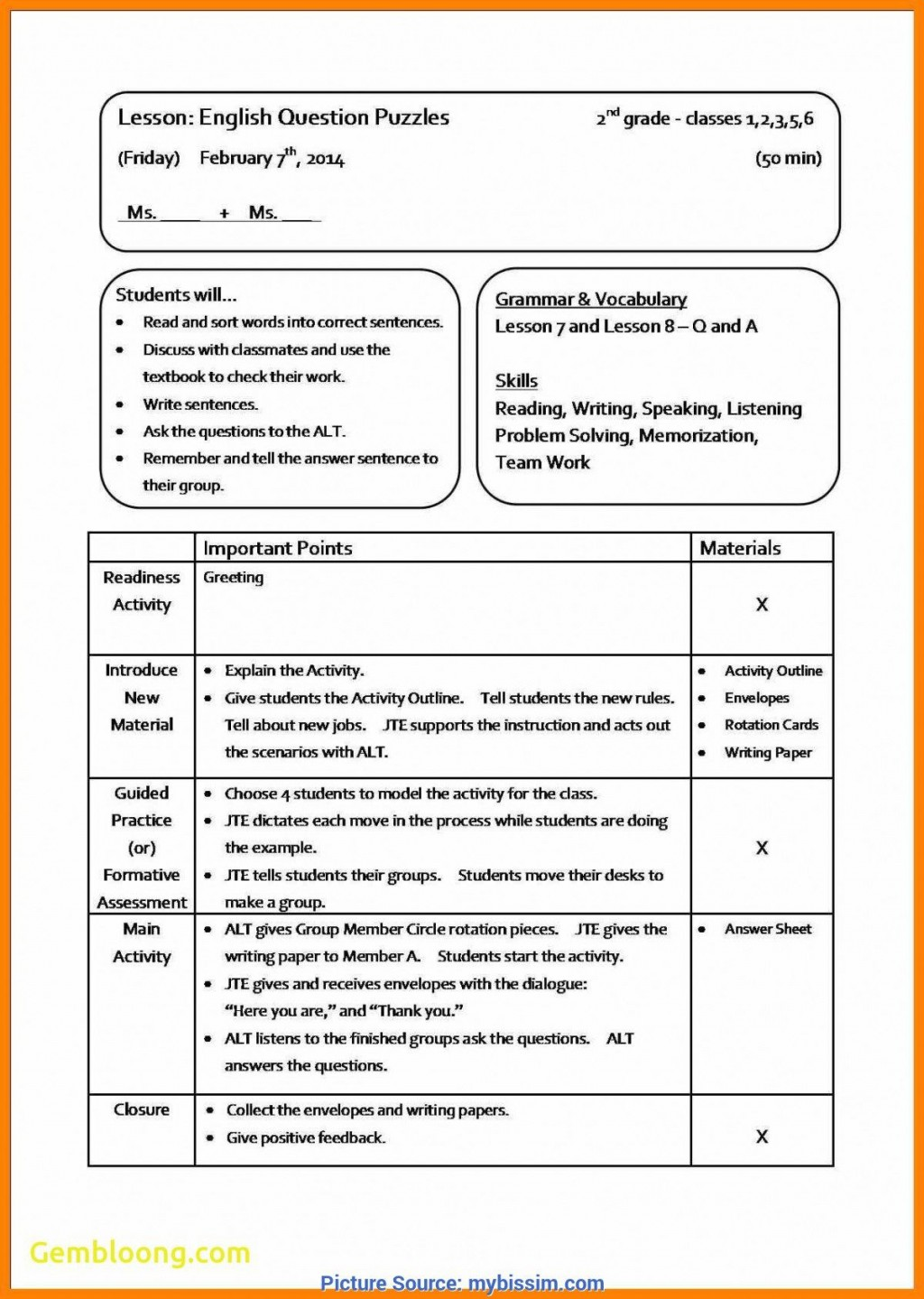 007 Remarkable Best Lesson Plan Template Concept  Practice Format PdfLarge