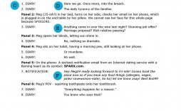 007 Remarkable Comic Book Script Writing Format Image  Example